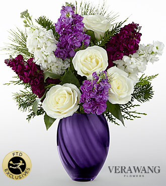 The FTD® Joyful™ Bouquet by Vera Wang