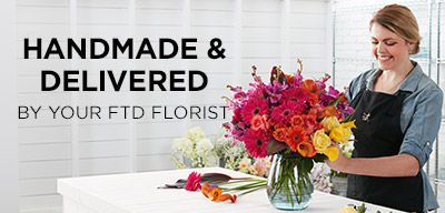 Handmade and Delivered by your FTD Florist
