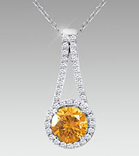 November Floral Jewls™: Birthstone Collection - Citrine