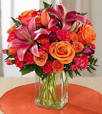 The FTD® Always True™ Bouquet - VASE INCLUDED