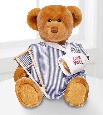 Build-A-Bear Workshop® Get Well Bear Patient
