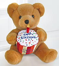 Happy Birthday Message Bear by Build-A-Bear Workshop®