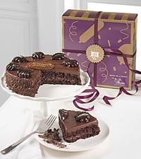 Chocolate Mousse Torte Birthday Cake