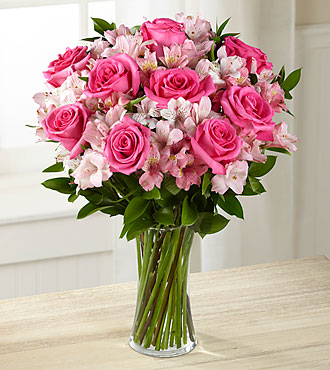Dreamland Pink Bouquet - VASE INCLUDED