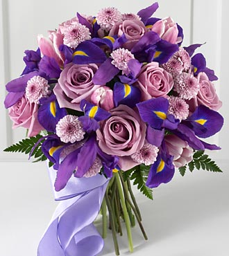 Indigo Beauty Hand-tied Bouquet