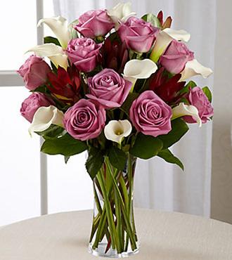 Lavender Beauty Bouquet - VASE INCLUDED