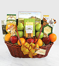 Share the Goodness of California Fruit & Gourmet Basket