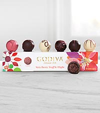 Godiva® Very Berry Truffle Flight - 6-piece