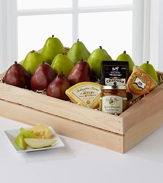 The Perfect Pear Gift Basket - Best