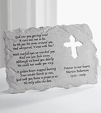 Personal Creations® Personalized Memorial Garden Stone