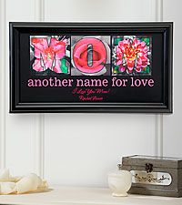 Personalized Another Name for Love Print - Mom