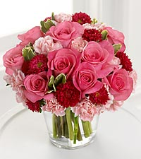 The FTD® Precious Heart™ Bouquet - VASE INCLUDED