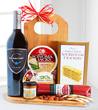 Gourmet Wine & Cheese Board - Good
