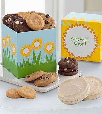 Mrs. Fields® Get Well Soon Ribbon Box